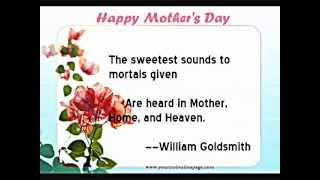 Top Motivational & Inspirational Happy Mother's Day Quotes
