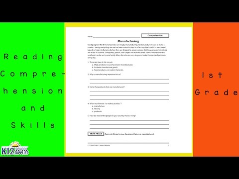 Reading Comprehension - Reading Comprehension Worksheets