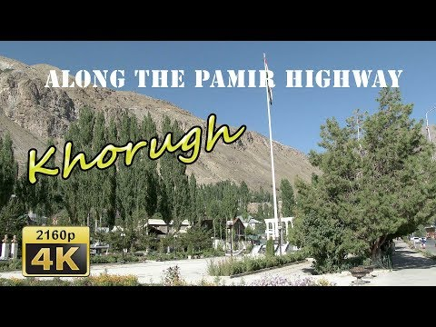 Khorog Bazaar and Kivekas Hotel - Tajikistan 4K Travel Channel