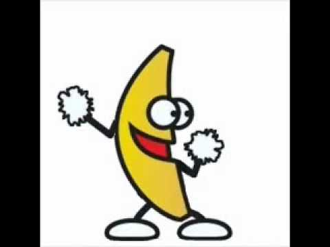 The Dancing Banana - The Chicken Dance - YouTube