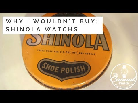 Shinola: Why I Wouldn't Buy Their Watches