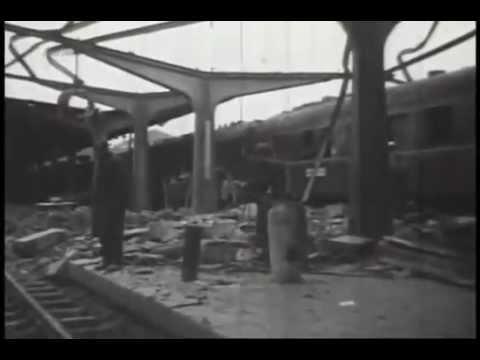 4 aprilie 1944.Bombardamentul anglo-american asupra Bucurestiului (jurnal german)