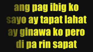 Tamang Hinala By: Mike Kosa W/ Lyrics..