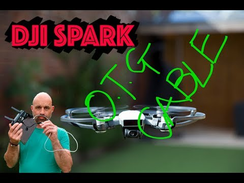 How to Make the DJI Spark Drone Amazing? Get an OTG Cable