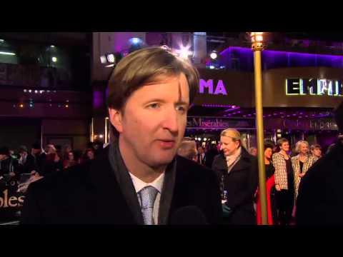 Tom Hooper London Premiere! Les Misérables