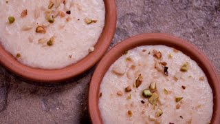 Rice Kheer recipe | Authentic Chawal Ki Kheer Recipe