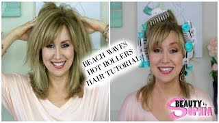 HOW TO GET SEXY BEACH WAVES | First Impressions & Tutorial | Calista Hot Rollers