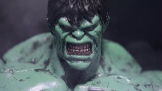 Picoro vs Hulk - The Stop motion Fight  Part 1