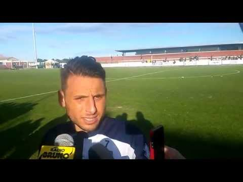 Clodiense-Parma Calcio 1913 0-3 flash interview Fabio Lauria