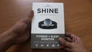 Misfit Shine Unboxing and set up