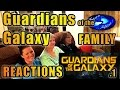 Guardians of the Galaxy FAMILY Reactions 1