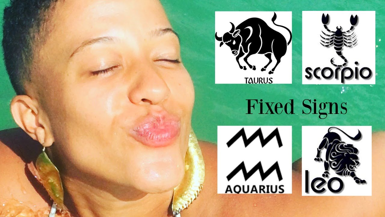 Taurus, Scorpio, Aquarius and Leo - Fixed Signs Explained - Simply Megan  Astrology ✔️