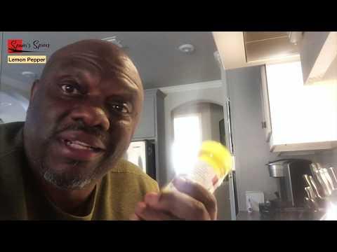 What's In Our Lemon Pepper Seasoning