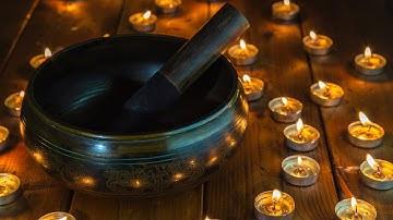 티벳 대형 싱잉볼 연주(극저음) 🎵 싱잉볼 명상음악/싱잉볼 차크라/명상음악/물소리 싱잉볼 (My Mind)