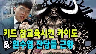 원피스] 키드 참교육시킨 카이도와 흰수염 잔당들 근황썰 보겸TV