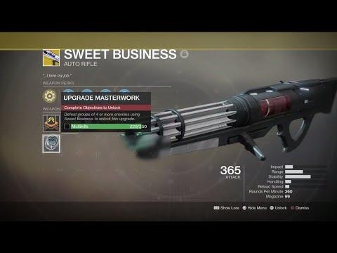 Destiny 2 Legend Of Acrius Catalyst Drop Rate Farm Sweet Business Catalyst Progress Quick Youtube