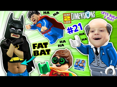 Thumbnail: FAT LEGO BATMAN? Movie Game! Alfred Shrinks Bat Suit (Let's Build & Play LEGO Dimensions YEAR 2 #21)