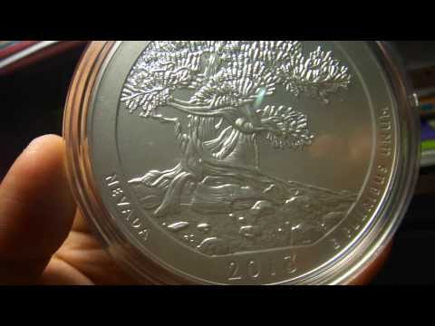 2013 America the Beautiful Five Ounce Silver Uncirculated Coin™ - Great Basin National Park, Nevada