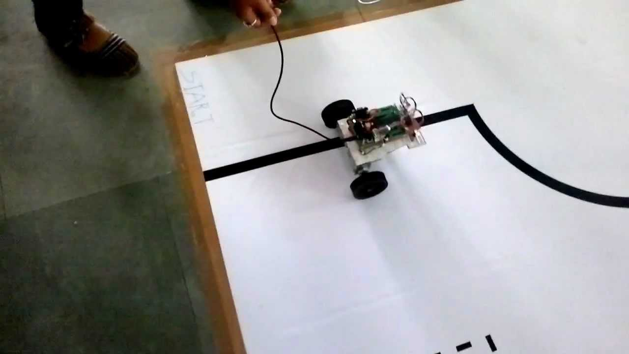 Line Follower Robot with Circuit Diagram & Code  YouTube