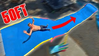 Built Slip N Fly in Backyard Waterpark!
