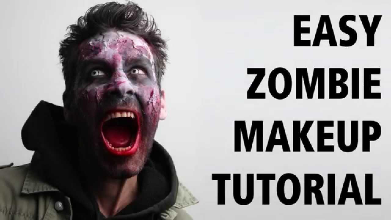 How To: Easy Zombie Makeup Tutorial E Truccarsi Da Zombie  Halloween  2015
