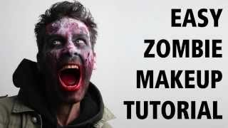 How to: Easy zombie makeup tutorial - Come truccarsi da zombie - Halloween 2015