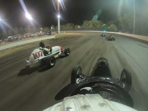 WRA Vintage Sprint Cars at Calistoga Speedway