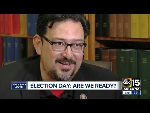 Maricopa County Auditor Adrian Fontes says county is ready for Election Day