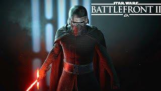 Supreme Leader Kylo Ren Skin Gameplay - Star Wars Battlefront 2 (2017)