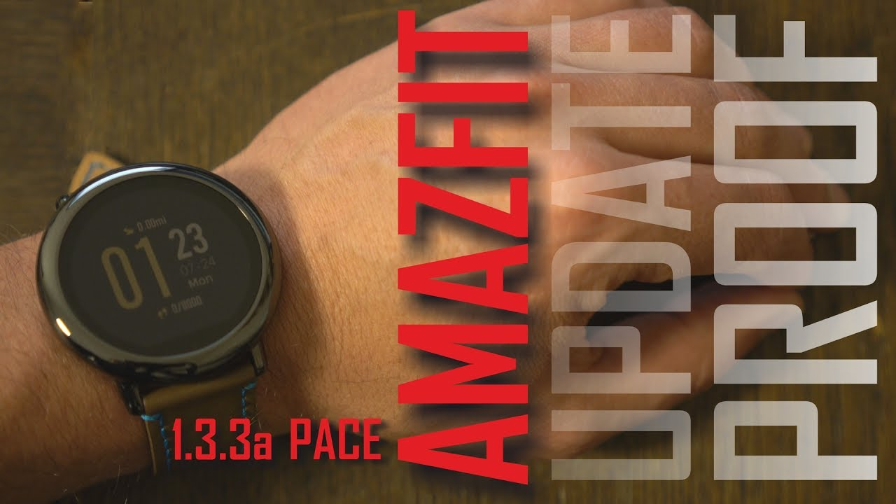 AMAZFIT to AMAZFIT PACE CROSSGRADE UPGRADE PROOF 1 3 3a