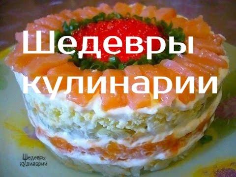 Новый кулинарный рецепт салата  Салат Самый вкусный