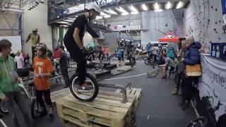 EUC winter 2018 trial unicycle - Bruno Riffaldi