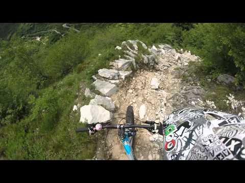 ABC team bike - Tovena (TV) Monte Cimone - Sentiero 990 (The Killer) - MTB enduro GoPro HERO
