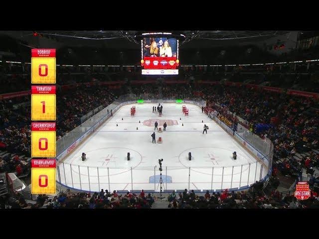 2020 KHL Super Skills. Hockey Biathlon contest