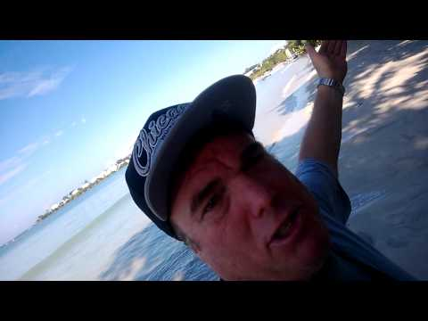 Negril Jamaica Bloody Bay video between the RIUs nice day on beach