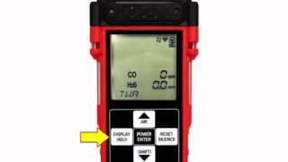 GX-2012 Gas Monitor Operation