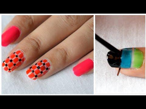Simple Nail Art Designs At Home For Small Nails