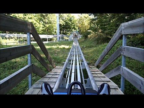 Action Park, Vernon, NJ  // Alpine Mountain Coaster - POV  - HD
