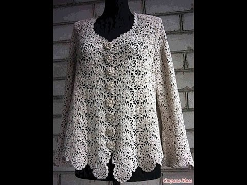 crochet cardigan| free |crochet pattern| 413 - YouTube