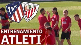 Atlético-Athletic | Entrenamiento del Atlético de Madrid |Diario AS