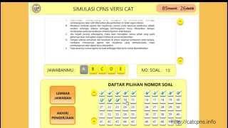 Download Video Simulasi CAT CPNS BKN 2014 MP3 3GP MP4