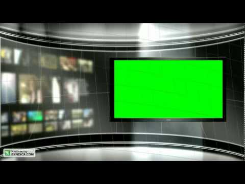 Virtual TV Studio Background