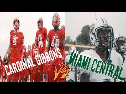 🚨BIG GAME ALERT!!🚨 || Cardinal Gibbons VS. Miami central
