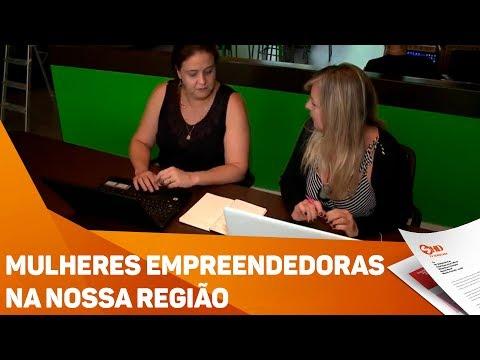Mulheres empreendedoras na nossa região - TV SOROCABA/SBT