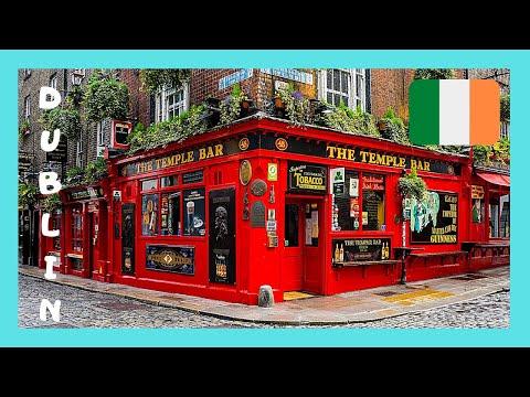 DUBLIN, authentic and fun IRISH MUSIC at TEMPLE BAR (IRELAND)