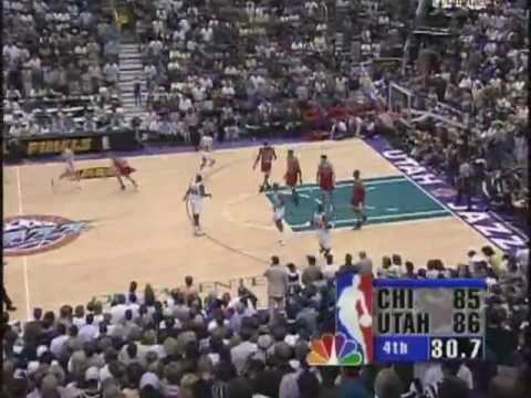 MICHAEL JORDAN: 45 pts vs Utah Jazz (1998 NBA Finals-Game 6)