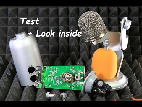 Blue Yeti Usb Microphone Sound Recording Test Look