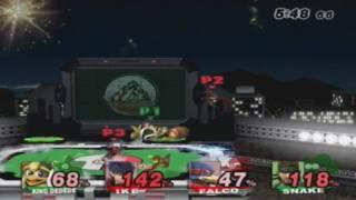 LethalTrilogy (Falco) Lucky7 (Ike) Vs K0rean (D3) DanL (Snake)