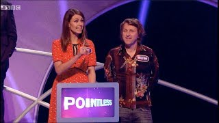 Pointless Celebrities, Series 10 Episode 44. Ellie Taylor, Milton Jones, Jay Rayner, Sara Pascoe...