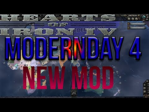Modern Day 4 NEW POPULAR MOD! Hearts of Iron IV HOI4